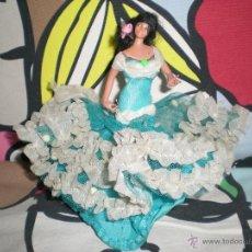 Muñeca española clasica: ANTIGUA MUÑECA FOLCLORICA MINIATURA MARIN COLECCION ESPAÑOLA AÑOS 50. Lote 40150080