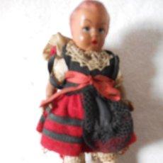 Muñeca española clasica: MUÑECA CELULOIDE TIPO GALLEGA. Lote 40158260