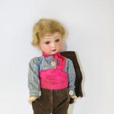 Muñeca española clasica: MUÑECA DE PORCELANA 'RECORT D'OLOT' - CUERPO DE COMPOSICIÓN - PRIMER TERCIO S. XX. Lote 40320192