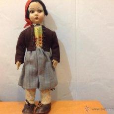 Muñeca española clasica: MUÑECA DE FIELTRO TIPO PAGÉS DE 37 CMS. Lote 40980714