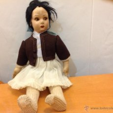 Muñeca española clasica: MUÑECA DE FIELTRO TIPO PAGÉS DE 37 CMS. Lote 40980730