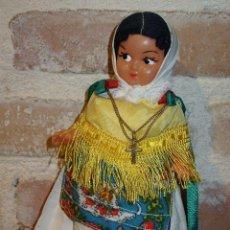 Muñeca española clasica: ANTIGUA MUÑECA DE CELULOIDE O PLASTICO AÑOS 60. Lote 41389566