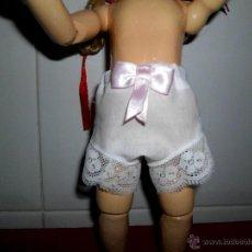 Muñeca española clasica: BRAGUITA DE MUÑECA CON LAZO ROSA. Lote 42357824