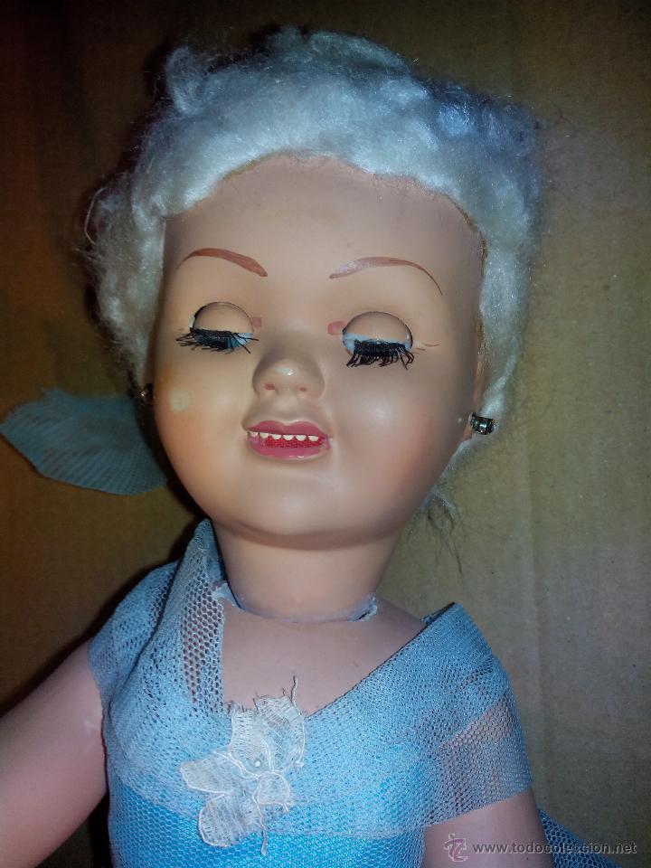 Muñeca española clasica: ANTIGUA Y ORIGINAL MUÑECA CON VESTIDO ORIGINAL años 40-50 - Foto 3 - 42588968