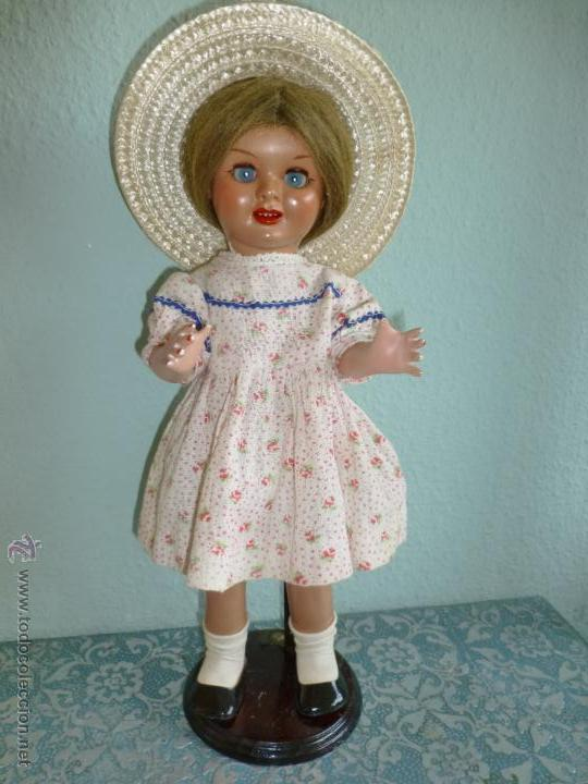 Muñeca española clasica: Preciosa muñeca antigua Teresín pequeña - Foto 12 - 42979596