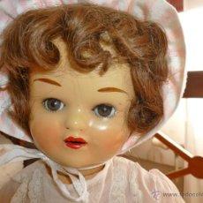 Muñeca española clasica: MUÑECA ANTIGUA MARICELA GRANDE CON MANOS DE CELULOIDE.. Lote 42983048