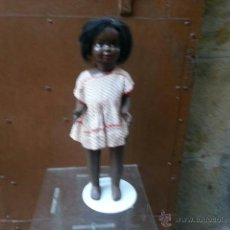 Muñeca española clasica: MUÑECA ESPAÑOLA NEGRA. Lote 43204489