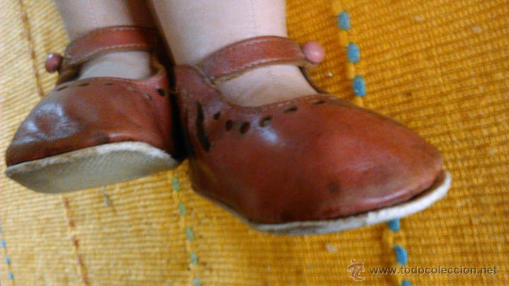 Muñeca española clasica: Antigua muñeca PAGES de cartón piedra,pastas,tejido rellena de serrín .Ojos de cristal. - Foto 21 - 43275349