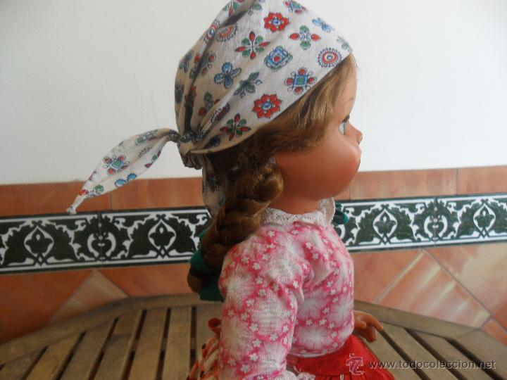 Muñeca española clasica: PRECIOSA MUÑECA NO PONE MARCA CON TRAJE REGIONAL DE CELULOIDE MIDE 45 CM - Foto 10 - 44950642