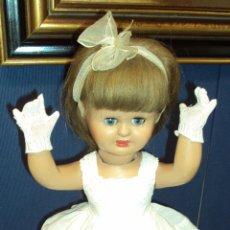 Muñeca española clasica: ANTIGUA MUÑECA MARI CRIS - FLORIDO CARTÓN PIEDRA. Lote 44985274