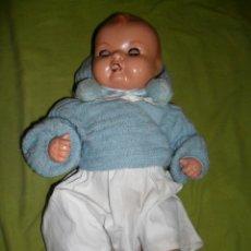 Muñeca española clasica: MUÑECO QUIQUE (HERMANO DE MALIBÚ) INDUSTRIAS LOPADI - AÑOS 40. Lote 44992139