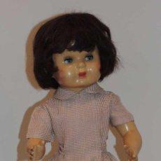 Muñeca española clasica: ANTIGUA MUÑECA ESPAÑOLA PURITA DE LOS AÑOS 50 COETÁNEA DE MARIQUITA PÉREZ... Lote 44998044