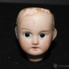 Muñeca española clasica: CABEZA DE MUÑECA EN BISCUIT CON MARCA EN LA NUCA. Lote 45422827