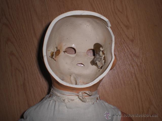 Muñeca española clasica: MUY ANTIGUO MUÑECO PARA REPUESTOS - Foto 2 - 45948936