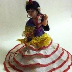 Muñeca española clasica: BONITA MUÑECA CELULOIDE SEVILLANA. Lote 46159971