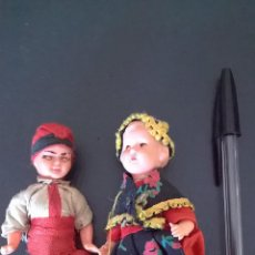 Muñeca española clasica: MUÑECA ESPAÑOLA CLASICA PAREJA CATALANA 11 CM. Lote 46455929