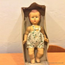 Muñeca española clasica: MUÑECO AÑOS 50 28 CMS SUPER RARO. Lote 46724760