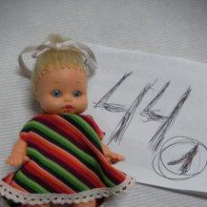 Muñeca española clasica: ANTIGUA PEQUEÑA MUÑECA. Lote 46874700