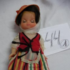 Muñeca española clasica: ANTIGUA MUÑECA MAGA CON TRAJE TRADICIONAL DE TENERIFE. Lote 46875052
