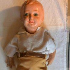 Muñeca española clasica: GRAN MUÑECO PEPÓN CARTÓN PIEDRA AÑOS 30. Lote 47768548