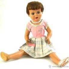 Muñeca española clasica: MUÑECA VICKY - PARA RESTAURAR - CARTÓN PIEDRA - AÑOS 1950. Lote 47956250