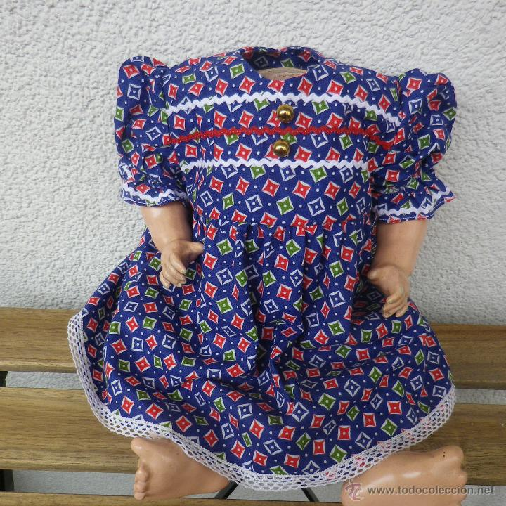 BONITO VESTIDO PARA ANTIGUA MUÑECA (Juguetes - Reproducciones Vestidos y Accesorios Muñeca Española Clásica)