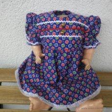 Muñeca española clasica: BONITO VESTIDO PARA ANTIGUA MUÑECA. Lote 47986852