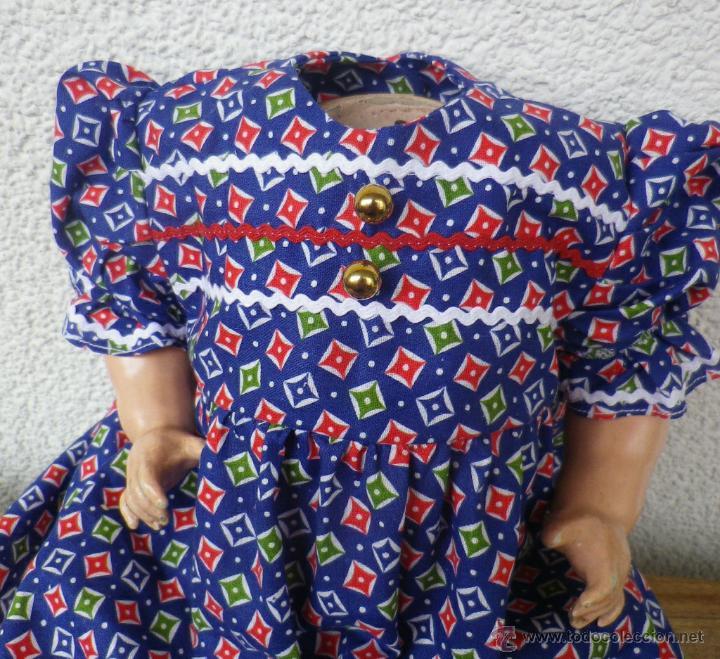 Muñeca española clasica: Bonito vestido para antigua muñeca - Foto 2 - 47986852