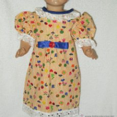 Muñeca española clasica: VESTIDO PARA MUÑECA ANTIGUA 45 CMTRS. APROX.. Lote 48246737