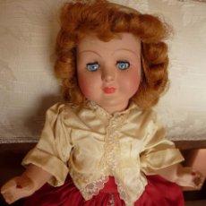 Muñeca española clasica: MUÑECA DE CARTON/CELULOIDE. TODA ORIGINAL, 32 CMS.. Lote 48928834