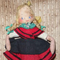 Muñeca española clasica: PROBABLE MARI PEPA MENDOZA,CON TRAJE REGIONAL,AÑOS 40. Lote 49191900