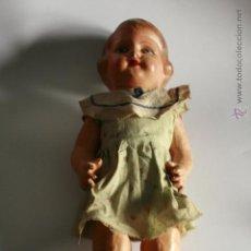 Muñeca española clasica: MUÑECA DE CARTÓN PIEDRA AÑOS 30 - 40. Lote 49340198