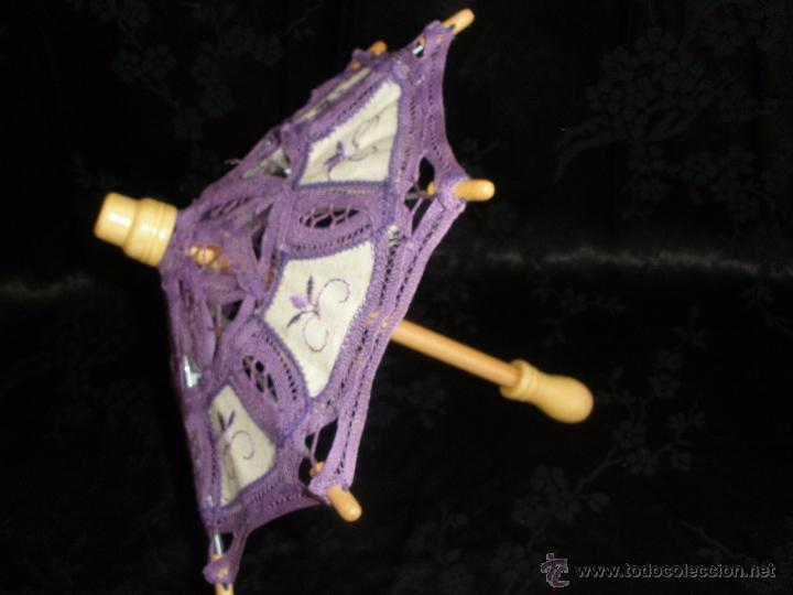 Muñeca española clasica: Pequeña sombrilla o paraguas para muñeca valida para muñeca Nancy - Foto 4 - 49366687