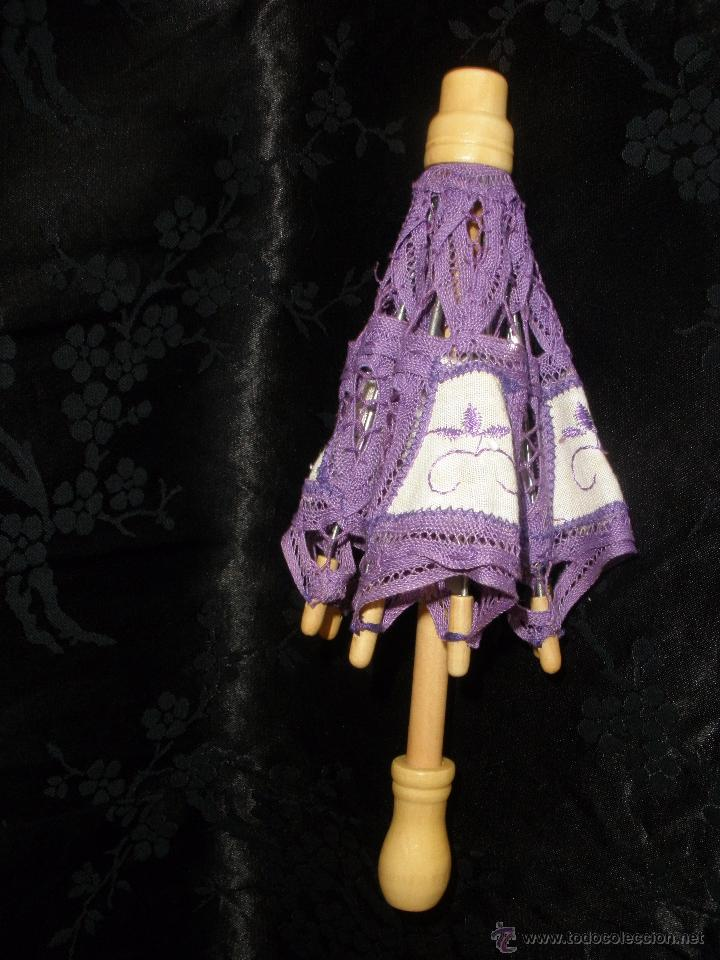Muñeca española clasica: Pequeña sombrilla o paraguas para muñeca valida para muñeca Nancy - Foto 5 - 49366687