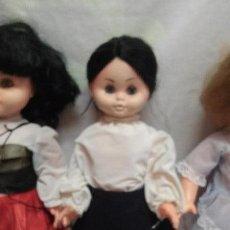 Muñeca española clasica: MUÑECAS DE FERIA ANTIGUAS . Lote 49410881