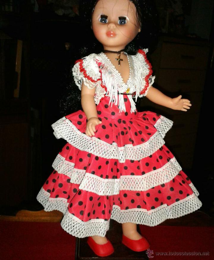 Vestido Gitana O Flamenca Para Muñeca Nancy O A Vendido En Subasta