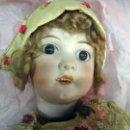 Muñeca española clasica: ANTIGUA MUÑECA DE PORCELANA , VER FOTOS ADICIONALES, ARTICULADA , MUY ANTIGUA , 60 CMS. , ORIGINAL. Lote 49546449
