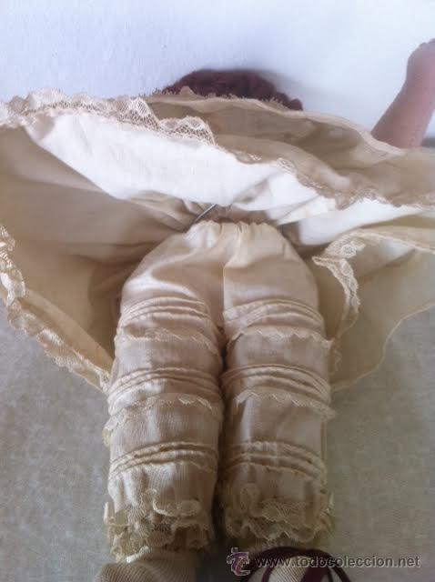 Muñeca española clasica: Antigua y original muñeca tela años 40 - Foto 3 - 50116094