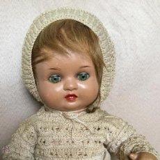 Muñeca española clasica: MUÑECO MUÑECA BEBE NANIN DE DIANA CON PELO. DIFÍCIL DE VER CON PELO. Lote 50589173
