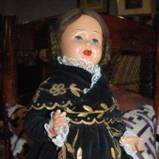 Muñeca española clasica: PRECIOSA MUÑECA AÑOS 40. Lote 50800556