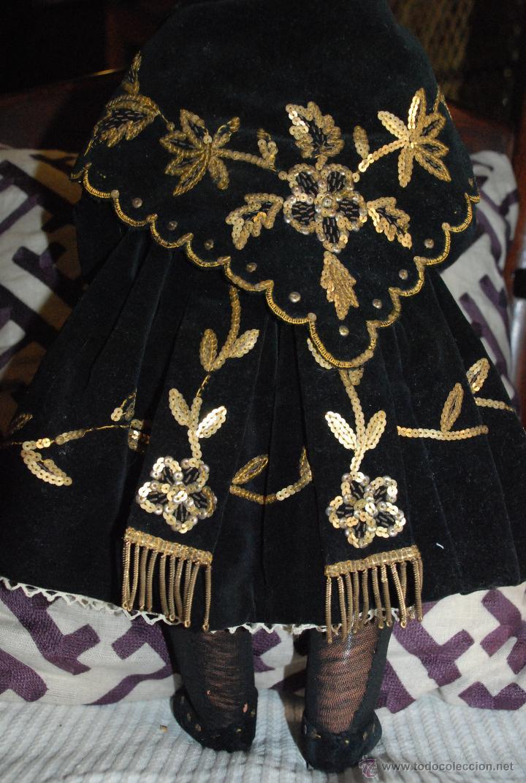 Muñeca española clasica: PRECIOSA MUÑECA AÑOS 40 - Foto 9 - 50800556