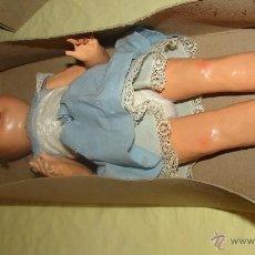 Muñeca española clasica - muñeca muy antigua de carton piedra- 40 cm - 53792753