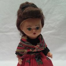 Muñeca española clasica: ANTIGUA MUÑECA REGIONAL AÑOS 50 . Lote 50986917
