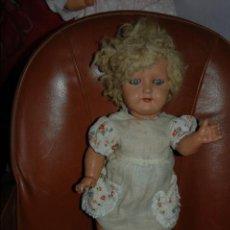 Muñeca española clasica: ANTIGUA MUÑECA DE CARTON PIEDRA. Lote 51078869