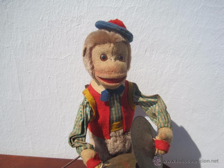 Muñeca española clasica: ANTIGUO MONO AUTÓMATA DE FIELTRO Y PELUCHE 32 CM. AÑOS 40 - Foto 2 - 51175401