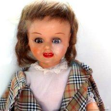 Muñeca española clasica: MUÑECA MARCADA EN EL CUELLO. JE. CARTÓN PIEDRA. Lote 51249420