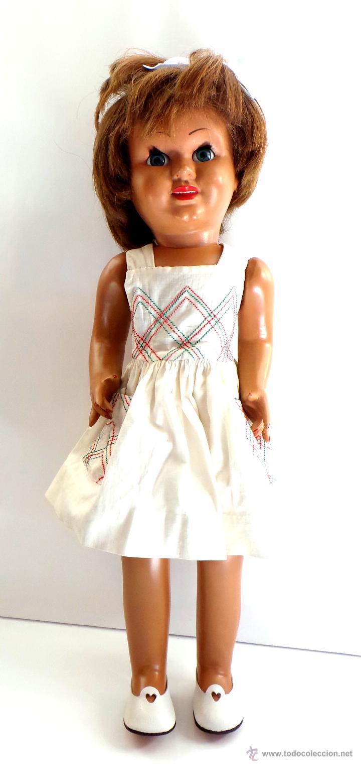 Muñeca española clasica: MUÑECA CAYETANA. CARTÓN PIEDRA AÑOS 40-50. - Foto 2 - 51249541
