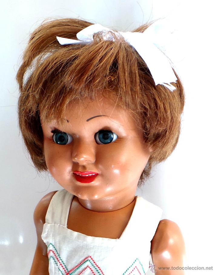 Muñeca española clasica: MUÑECA CAYETANA. CARTÓN PIEDRA AÑOS 40-50. - Foto 3 - 51249541