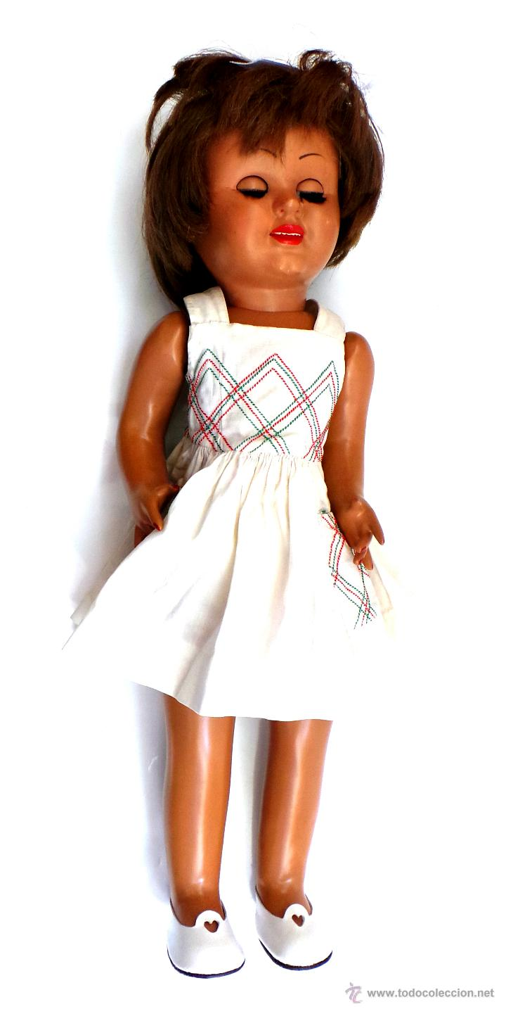 Muñeca española clasica: MUÑECA CAYETANA. CARTÓN PIEDRA AÑOS 40-50. - Foto 7 - 51249541