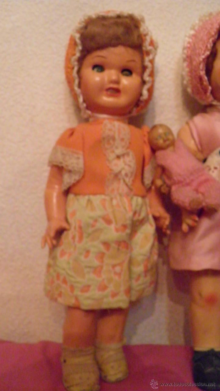 Muñeca española clasica: DOS VIEJAS MUÑECAS ESPAÑOLAS. VER IMAGENES, 40 CMS. APROX. - Foto 9 - 51348746